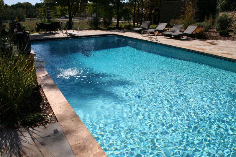 Refreshing Clear And Clean European Sunken Pool